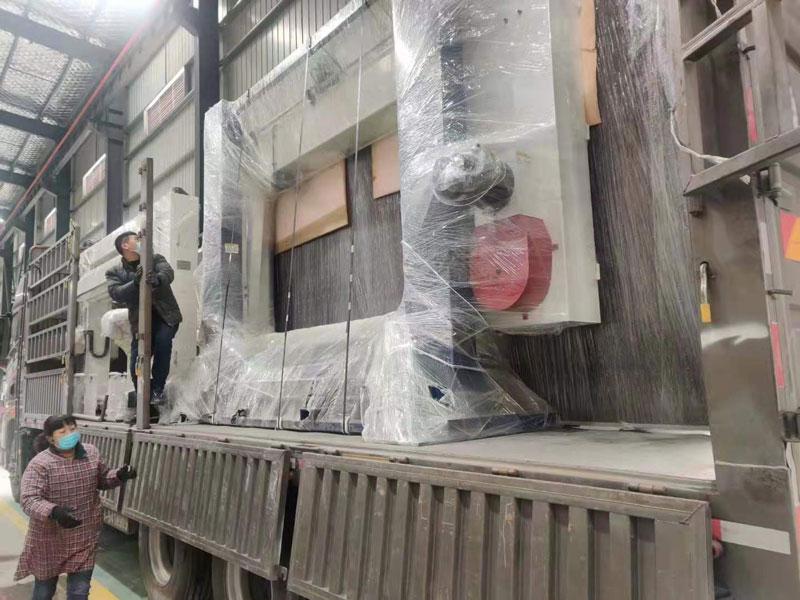 海綿制造生產線
