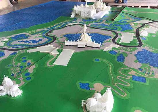 3D打印建筑體1