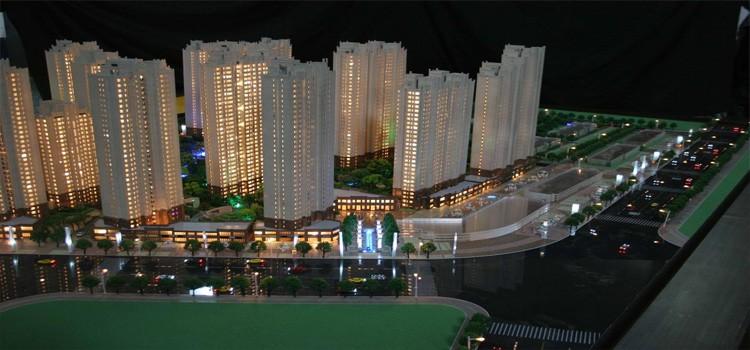 沙盘模型制作是可以呈现工程建筑的不同设计风格