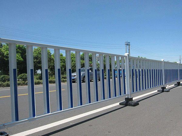 道路护栏的分类效果