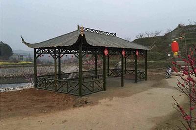 安徽竹长廊安装