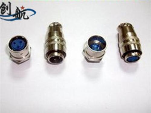 XS12系列圆形航空插头、电连接器、接插件