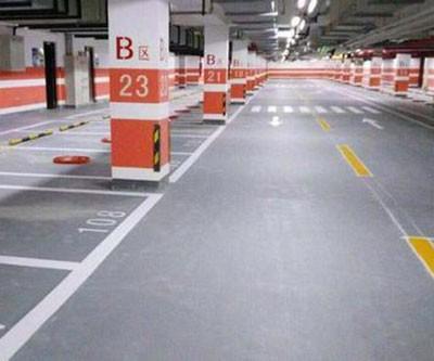 六安停车场车位划线