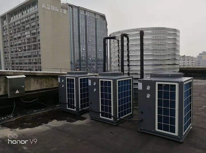 泰州市人民医院北院空气能热水系统