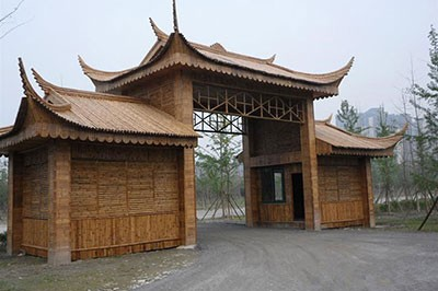 安徽竹建筑