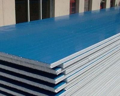 聚氨酯金属夹芯板与C型钢配套搭建厂房