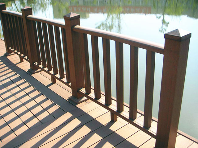 塑木护栏栏杆