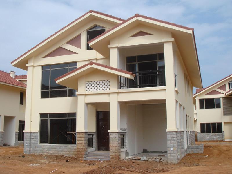 搭建完成四川轻钢别墅房如何进行装修?