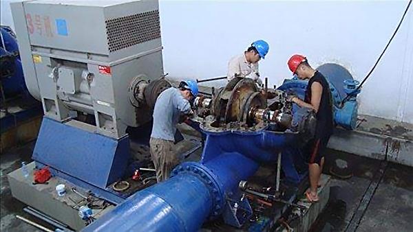水泵故障检修