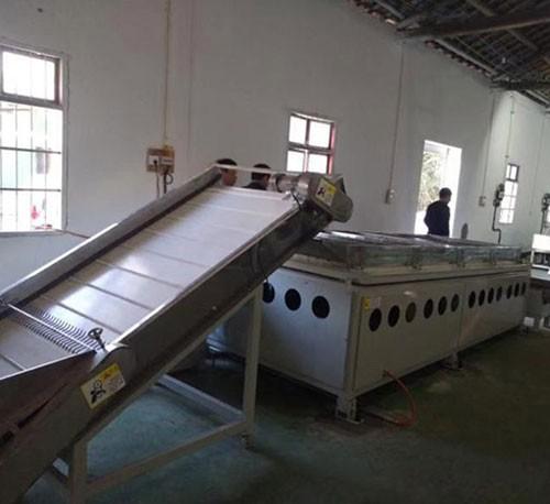 客户采购整套茶叶机械设备