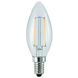 调光LED 灯丝灯 2W 蜡烛/拉尾/G45清光