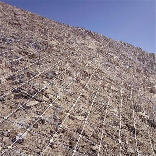 主动型山体防护网安装工艺过程