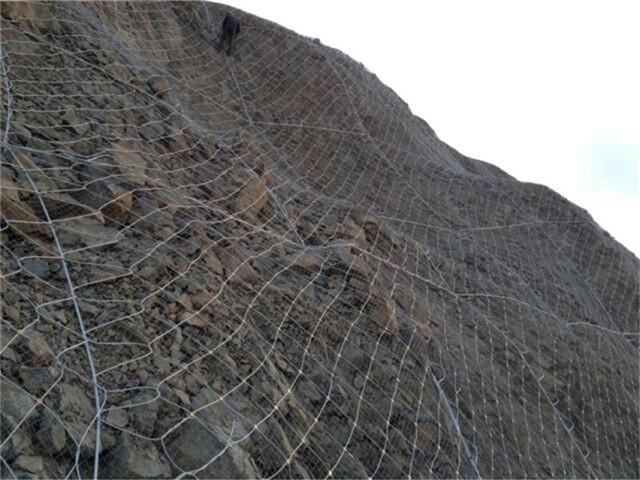SNS柔性防护网在生态环境的防护效果