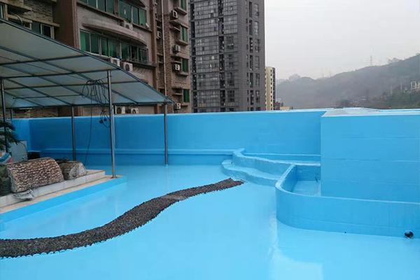 水上乐园涂装
