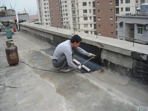 西宁防水材料施工案例