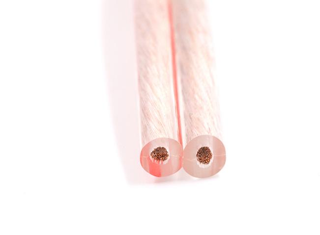 平行型透明喇叭电缆