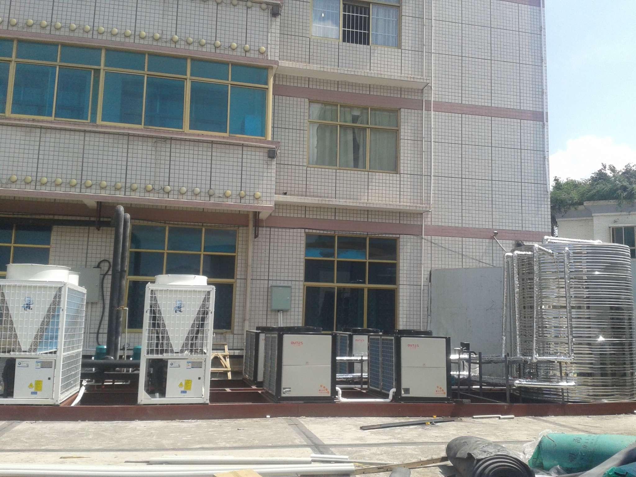 贵阳喜天大酒店中央空调及热水系统