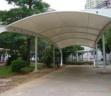 膜结构停车棚的相关设计要点