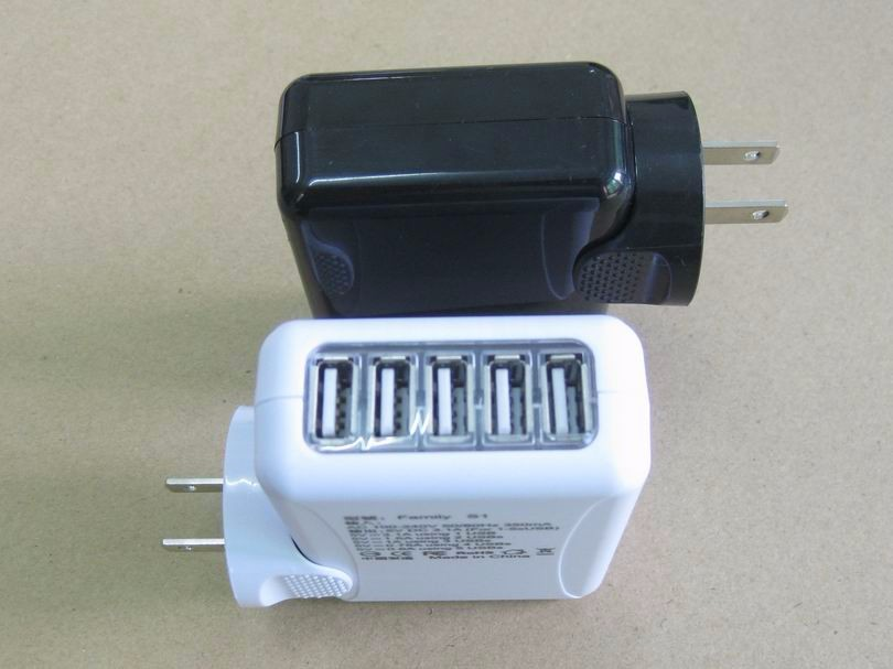 5USB旅行充電器