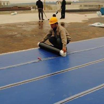 小区屋面防水施工