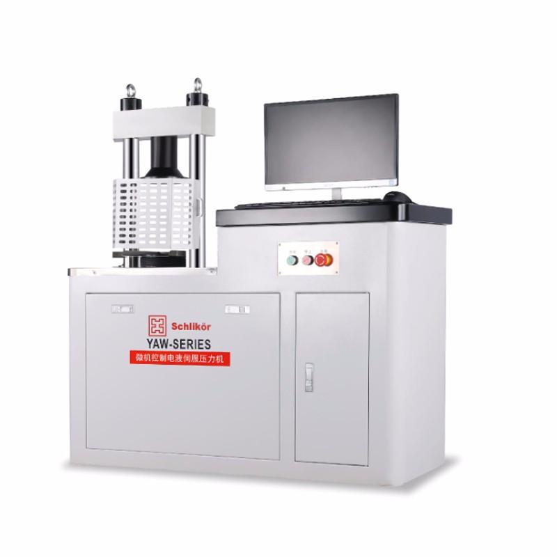 YAW-300B-全自动电液伺服压力试验机