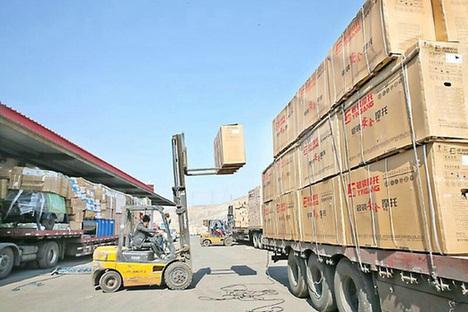 芜湖至昆明-某摩托车厂家零部件运输