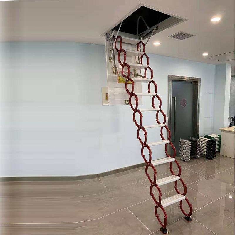 甄合金收缩楼梯