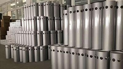 冲孔铝管规格