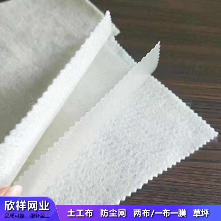 复合土工布两布一膜土工布接缝施工