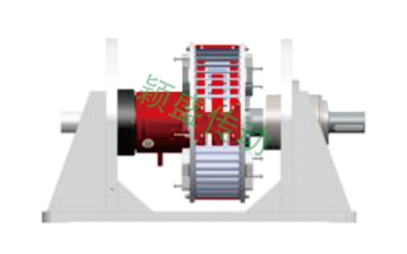 YS-KD空冷水平双基座型永磁调速器
