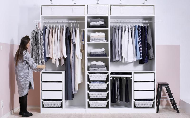 衣橱整理难处多,怎样整理衣橱,才能保证衣橱的整洁美观
