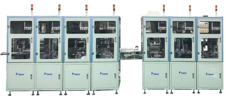 高频变压器中段生产线