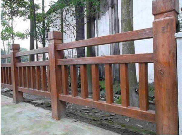 仿木护栏的涂料介绍