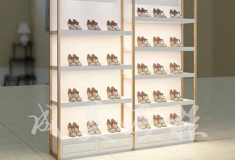 鞋类单面展柜