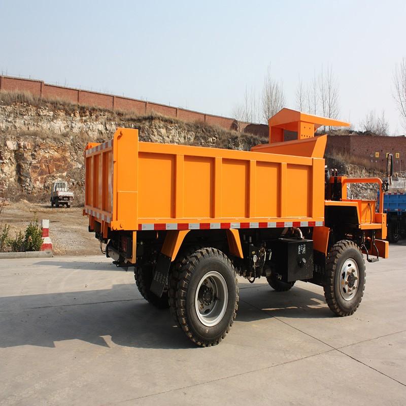 矿山专用运输车的分类及特点