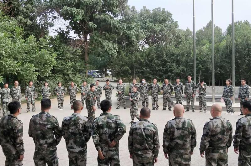 企业军事训练培训