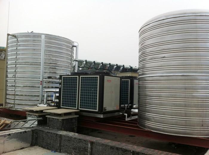 兴化莫泰酒店空气能热水器工程