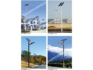 乡村道路灯生产厂家对6米太阳能灯构造和基本原理的详细介绍