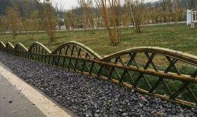 竹篱笆具有的围墙情怀
