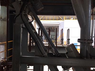 Application on metallurgical equipment