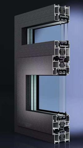 PC75(30条)隔热系列内平开窗