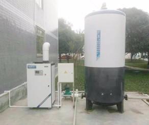 燃气模块炉加承压水箱