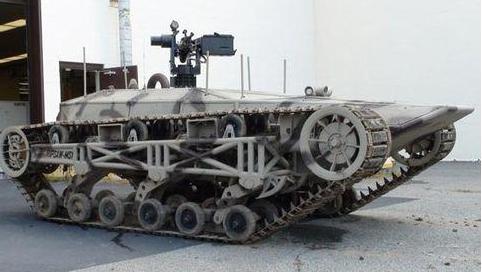 坦克的履带为什么可以越野?