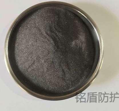 含不同云母氧化铁铝比环氧聚酰胺涂料的耐蚀性
