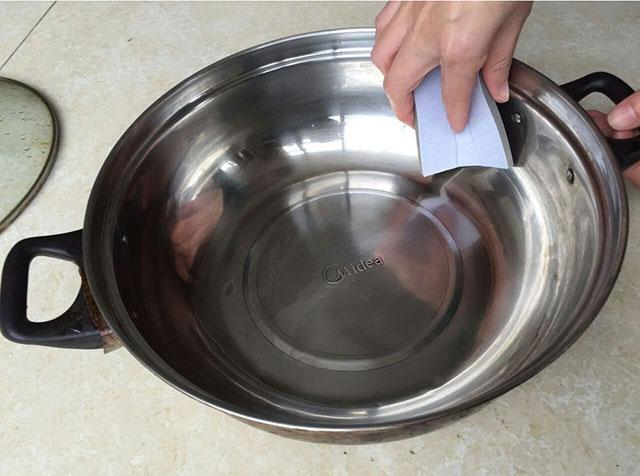 海绵砂除锅锈