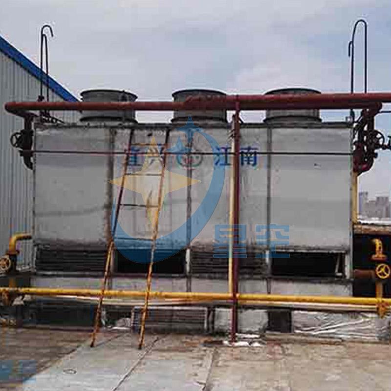 中央空调冷却塔清洗施工现场