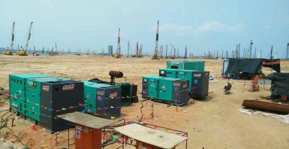 发电机组起动后控制箱的各种基本参数