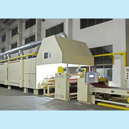江苏人造板行业用卧式浸渍、覆涂干燥生产线