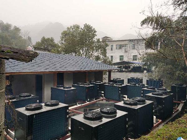 西溪谷温泉度假村300吨热水工程