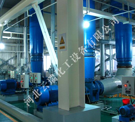 雙效強制循環蒸發器